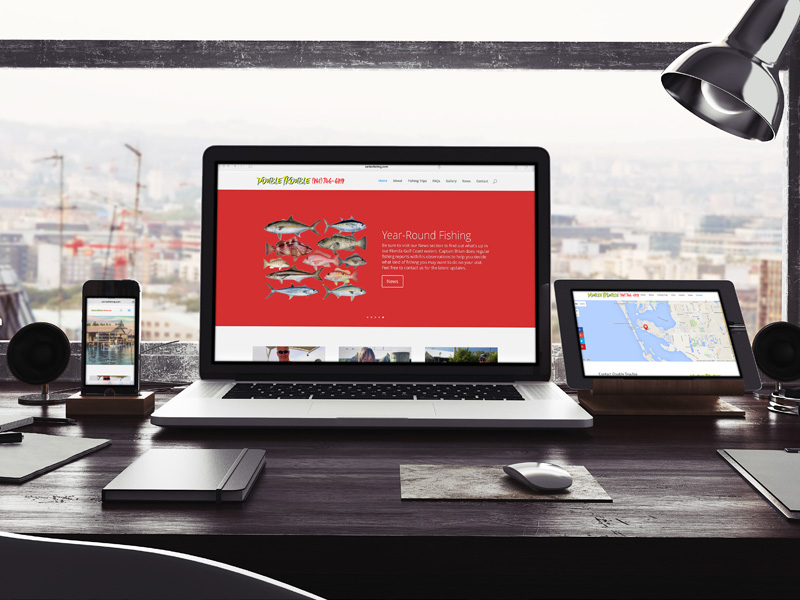 responsive website design on WordPress