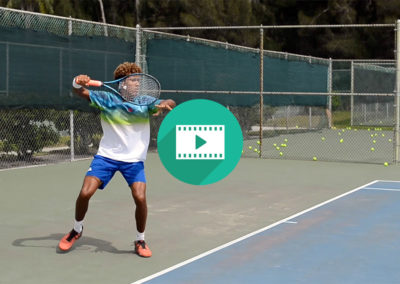 College Tennis Recruiting Video