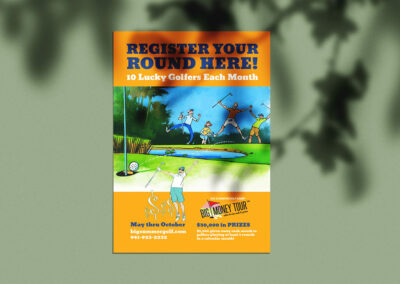 Big Summer Golf Card