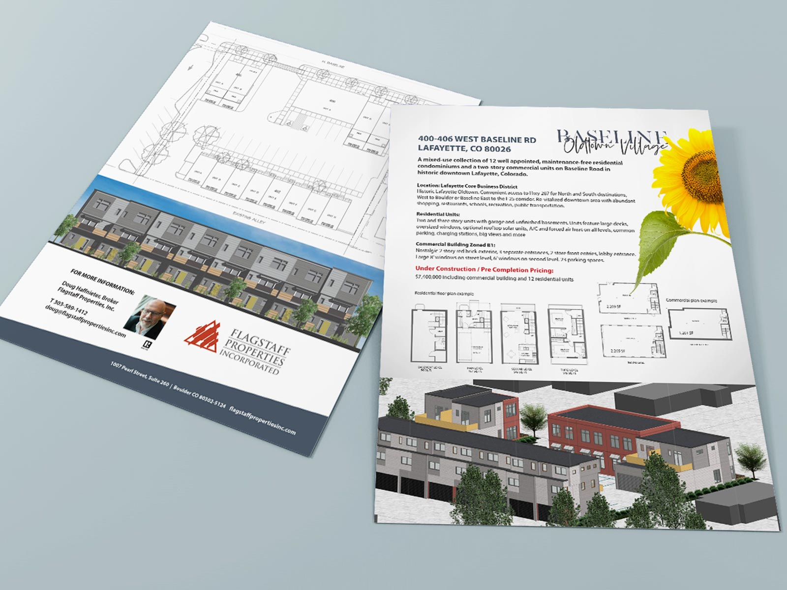 brochure and collateral design